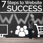 7 STEPS TO WEBSITE SUCCESS
